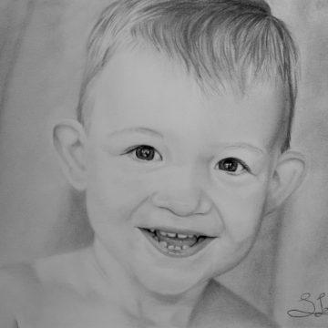 portret Pencil by Samantha@BloodlineTattoo.nl