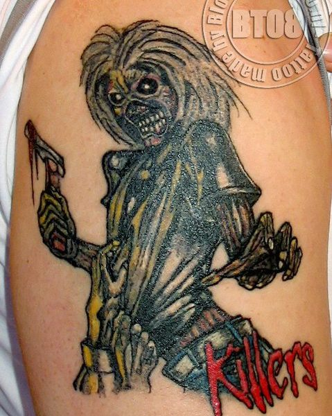 Iron Maiden by Bram@bloodlineTattoo.nl