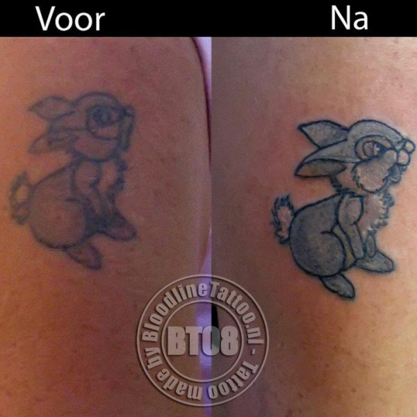 cover Stampertje by Bram@bloodlineTattoo.nl